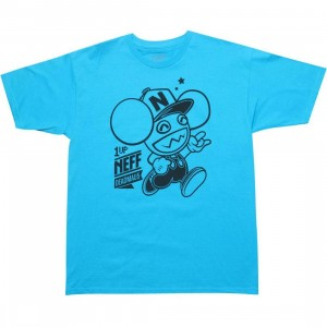 Neff x Deadmau5 1 UP Tee (turquoise)