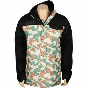 Neff Winston Puffy Jacket (black / camo)