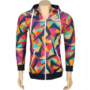 Neff Women Vesper Shredder Zip-Up Hoody (multi)