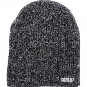Neff Daily Heather Beanie (black / grey)