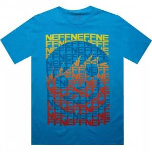 Neff Sequence Tee (turquoise)