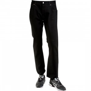 Nudie Jeans Co Hank Rey Organic Dry Jeans (black)