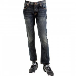 Nudie Jeans Co Grim Tim Organic Jeans (blue / wornin pepper)