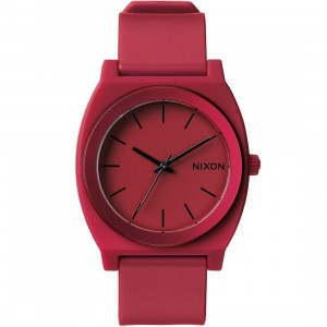 Nixon Time Teller P Watch (red / dark red ano)