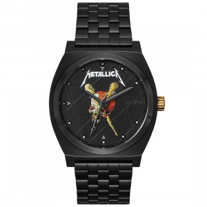Nixon x Metallica Time Teller Watch - Pushead (black)