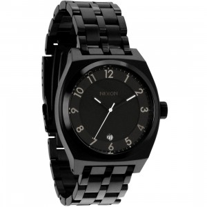 Nixon Monopoly Watch (all black)