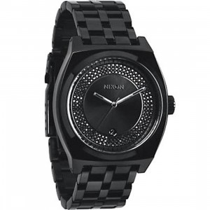 Nixon Monopoly Watch (black / all black / black crystal)