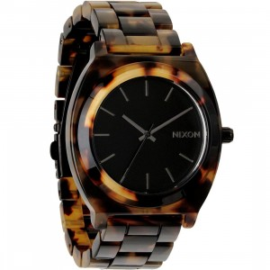 Nixon Time Teller Acetate Watch (brown / tortoise)