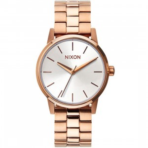 Nixon Small Kensington Watch (gold / rose gold / white)