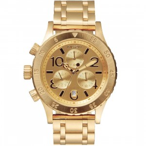 Nixon 38-20 Chrono Watch (gold)