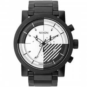 Nixon Magnacon II Watch - Instrument Pack (black / white)