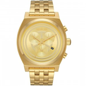 Nixon X Star Wars Time Teller Chrono Watch - C-3PO (gold)