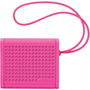 Nixon The Mini Blaster Multi Pair Bluetooth Speaker (pink / magenta)