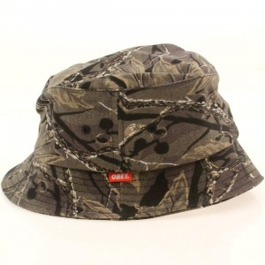 Obey Uplands Bucket Hat (gray / camo)