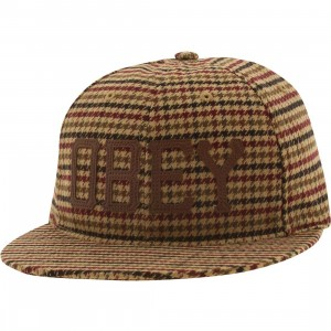 Obey Hank Adjustable Cap (brown)