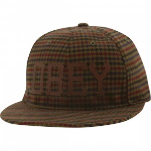 Obey Hank Adjustable Cap (olive)