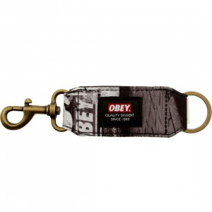 Obey Dissent Keychain (black / multi)