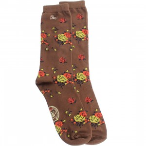 Obey Anza Borrego Socks (brown / mustang) 1S
