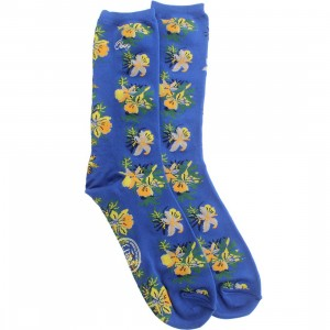 Obey Tourist Socks (blue / victoria blue) 1S