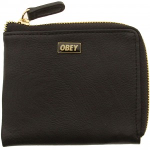 Obey Drexel Zip Wallet (black)