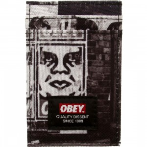 Obey Journey ID Wallet (black / multi)
