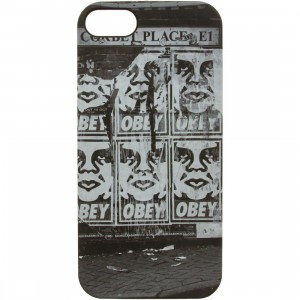 Obey Corbet Place iPhone 5/5s Snap Case (black)