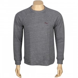 Obey Timeless Crewneck (grey / heather grey)