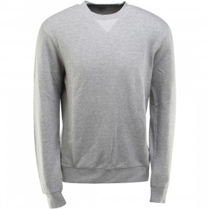 Obey Dissent Crewneck (gray / heather gray)