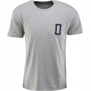 Obey Union Short Sleeve Pocket Tee (gray / heather gray)