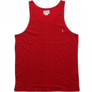 Obey Dotter Tank Top (red)