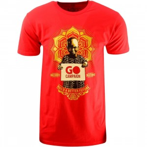 Obey Go Campaign Tee (red)