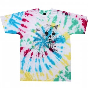 Obey Dead Cat Tee (rainbow)