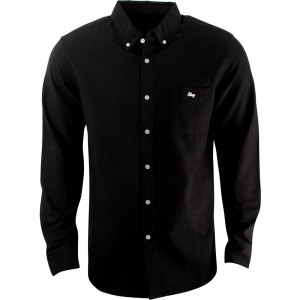 Obey Logan Woven Shirt (black)