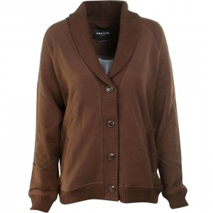 Obey Women Darya Cardigan (brown)