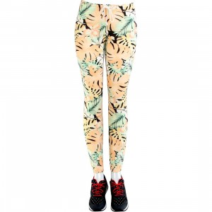 Obey Women Lola Sweatpants (orange / tropical)