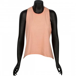 Obey Women Rider Tank Tee (pink / dusty coral)