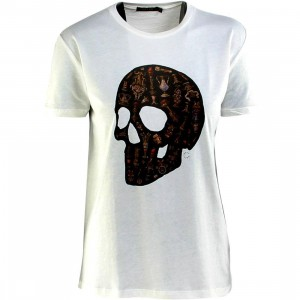 Obey Women Ecclesia Mortem Tee (white / natural)