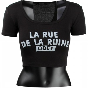 Obey Women Est Ruine Tee (black)