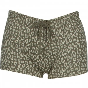 Obey Women Lola Sweat Shorts (olive / dusty)