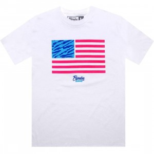 Popular Demand Tiger Flag Tee (white)