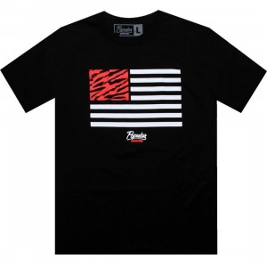 Popular Demand Tiger Flag Tee (black)