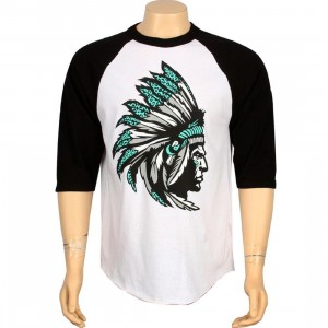 Popular Demand Chief Raglan Tee (white)