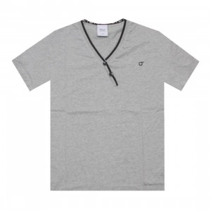 Orisue Talbert Knit Tee (heather grey)