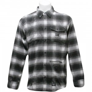 Orisue Harmonic Long Sleeve Woven Shirt (black)