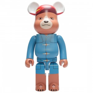 Medicom Paddington 1000% Bearbrick Figure (blue)