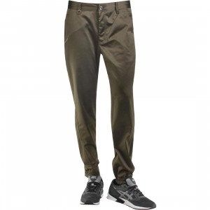 Publish Landis Satin Twill Jogger Pants (olive)