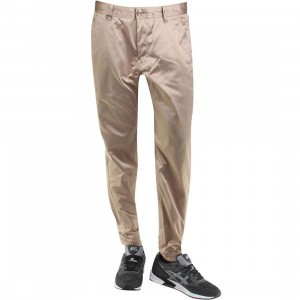 Publish Landis Satin Twill Jogger Pants (tan)