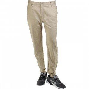 Publish Newkirk Slub Stretch Twill Jogger Pants (tan)