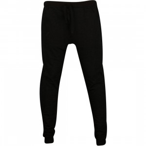 Publish Colinson Light Weight Fleece Slouch Style Pants (black)