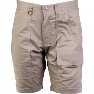 Publish Banksy Brushed Chambray Cargo Shorts (khaki)